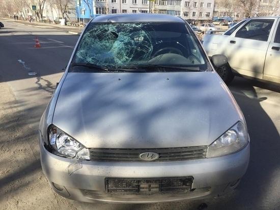 В Чапаевске автомобилист сбил на пешеходном переходе мужчину