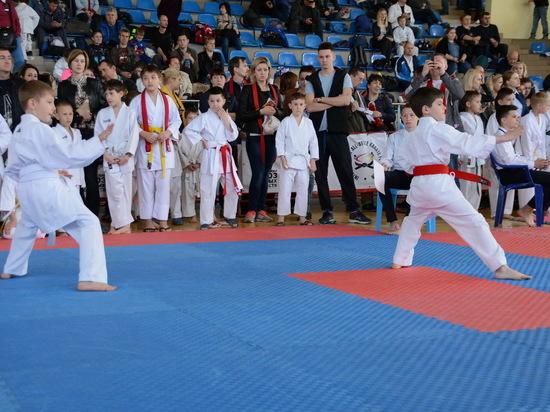 В Крыму состоялся турнир каратистов