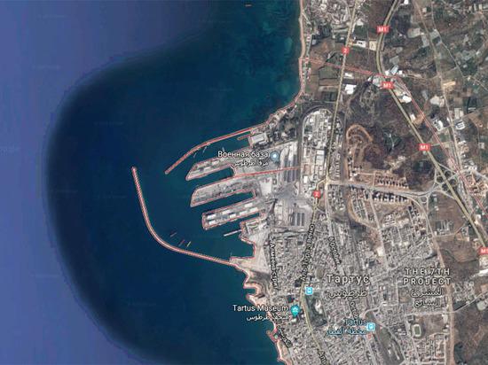Названа причина ухода российских военных кораблей из сирийского порта Тартус