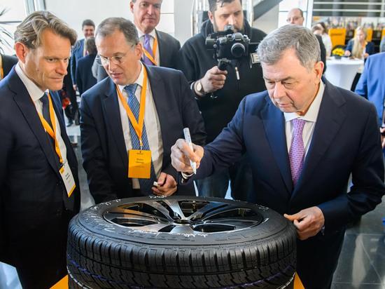Калужский Continental увеличил поставки шин на российский рынок