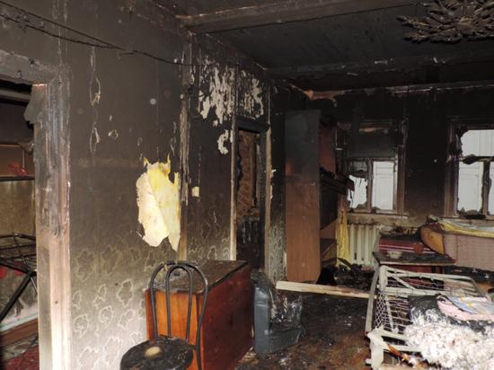 Ревнивую оренбурженку, спалившую дом своего сожителя отправили под суд