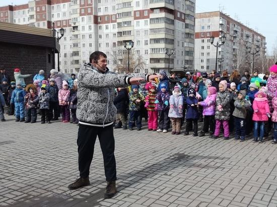 В Ленинском районе прошло массовое спортивное событие для детей