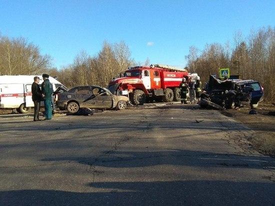 Три человека погибли в ДТП около Навашино Нижегородской области