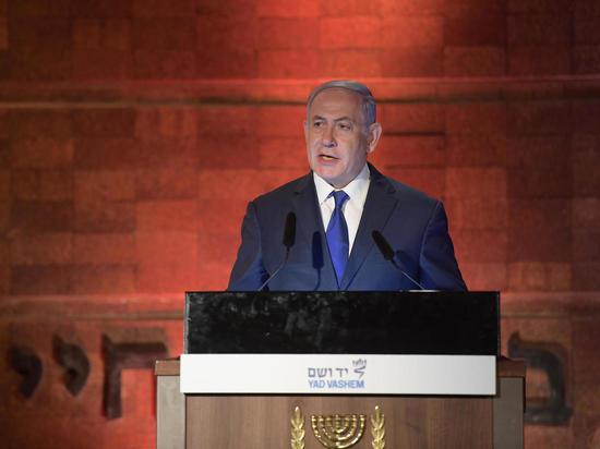 Биньямин Нетаниягу приял участие в церемонии посвященной Дню памяти Катастрофы и героизма еврейского народа