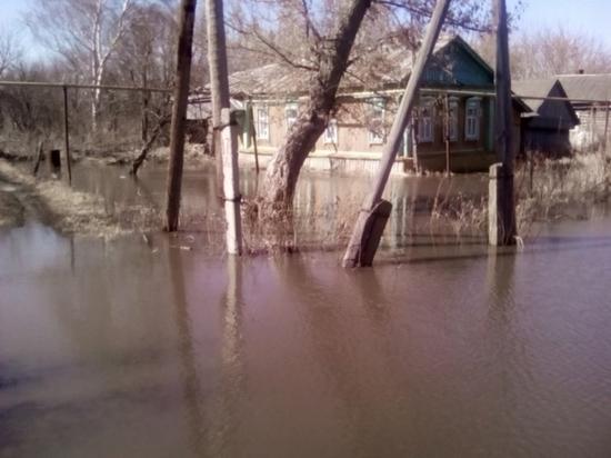 В Кадошкинском районе подтоплены 36 приусадебных участков