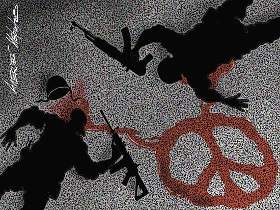 Мир и война: выбор между ценностями ветхого завета и нагорной проповеди