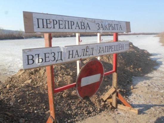 12 ледовых переправ в Югре продолжают работать