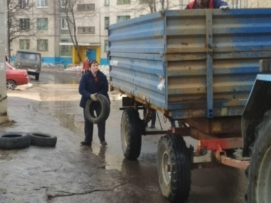 В Чебоксарах старые шины пустят на покрытие спортплощадок