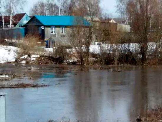 В Кайбицком районе приусадебные участки освобождаются от воды