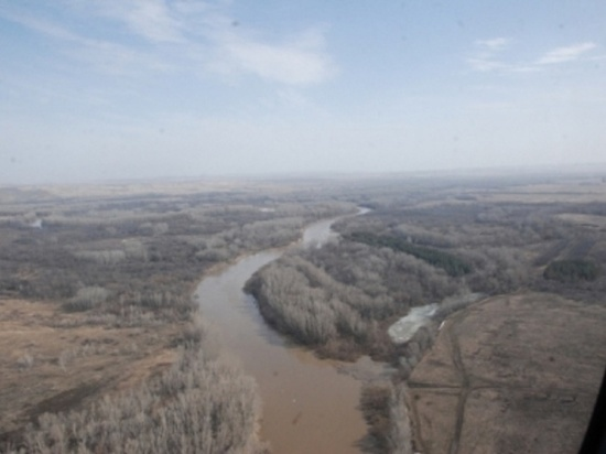 В Оренбуржье затоплены 23 моста и 40 придомовых территорий