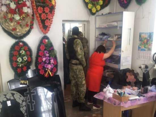 В Похвистнево трое жителей торговали «смертью» в магазине ритуальных услуг