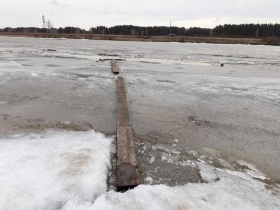 Мужчина погиб, провалившись под растаявший лед