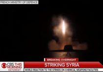 Дональд Трамп похвалил самого себя и своих союзников – Великобританию и Францию - за «идеальные» удары по Сирии