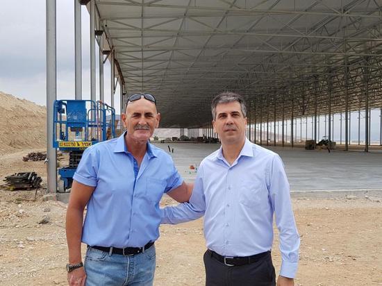 """В Иорданской долине построят завод сельскохозяйственной компании """"Грин Нетс"""""""