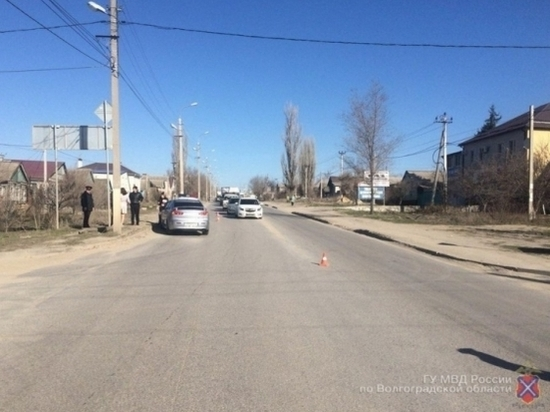 В Краснооктябрьском районе Волгограда иномарка сбила ребенка