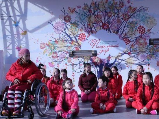 Инклюзивный детский театр Якутии на гастролях