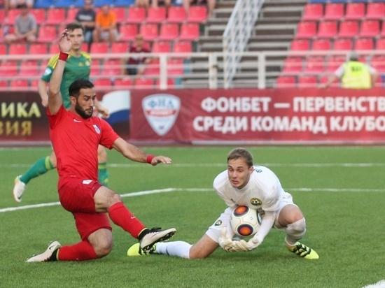 Футболисты «Мордовии» завтра сыграют в Зеленодольске
