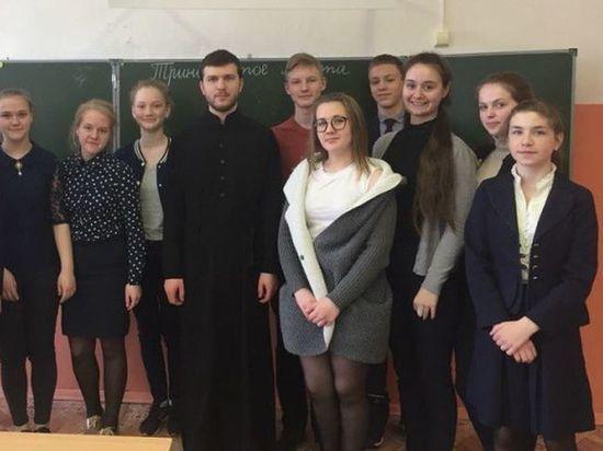 Сандовский район посетили студенты Московской духовной академии