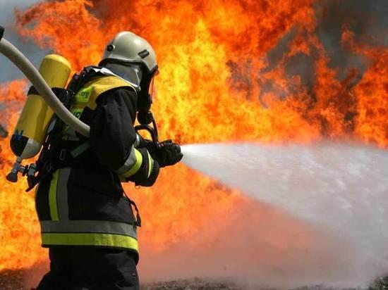 В Димитровграде горели три квартиры в многоэтажке