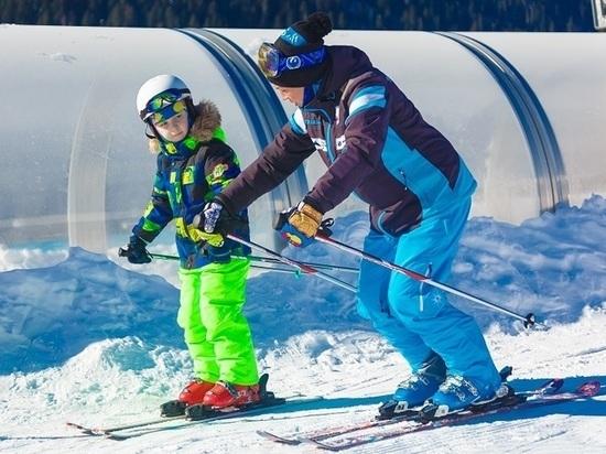В уроках «Лыжи зовут!» участвовали более 500 школьников Северного Кавказа