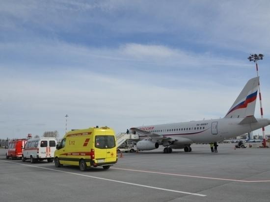 Спецборт МЧС России перевез ребенка на лечение из Екатеринбурга в Анапу