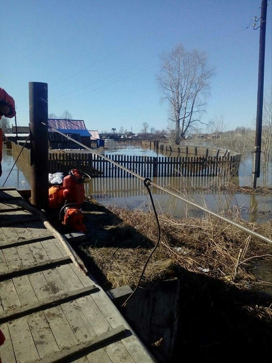 В Алтайском крае  река топит районный центр Тальменка