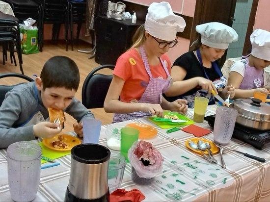 В Ржевском районе проходят детские кулинарные мастер-классы