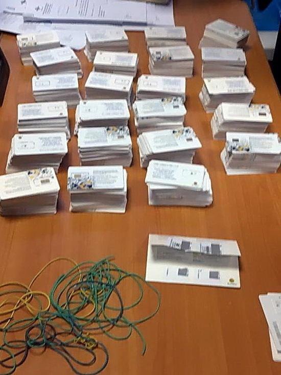 В Саранске задержали продавцов обезличенных сим-карт