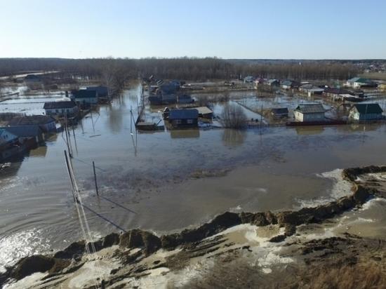 Алтайские спасатели спасли п. Тальменка от полного затопления (видео)