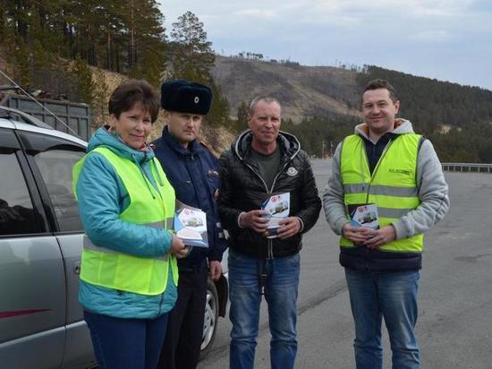 Акцию по профилактике ДТП на федеральных автодорогах провели ФКУ Упрдор «Забайкалье» и краевое Управление ГИБДД