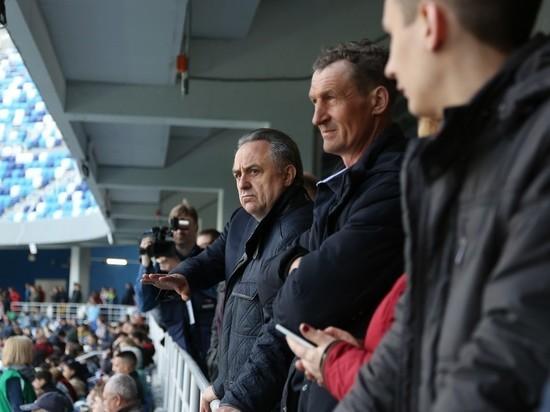 Виталий Мутко посетил первый матч на «Стадионе Нижний Новгород»