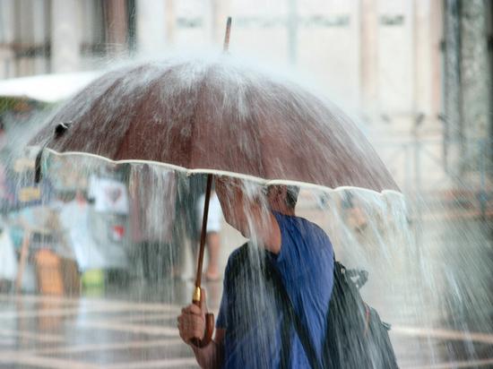 Во вторник северный ветер принесёт в Тверскую область сильный дождь