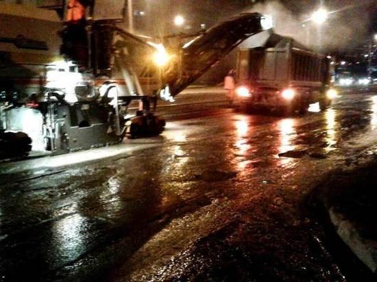 В Самаре начали ремонтировать улицу Ново-Вокзальную