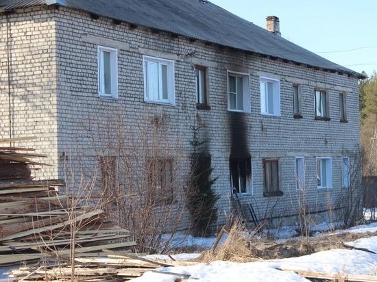 В Котельничском районе в своей квартире сгорела семья из трех человек