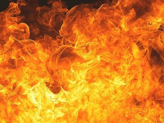 В Бузулукском районе на пожаре погиб мужчина