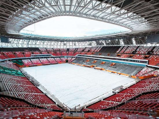 Стадион «Мордовия Арена» 21 апреля примет первый матч