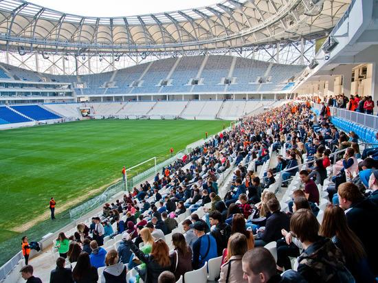 Гостей первого матча на «Волгоград Арене» накормят и развлекут