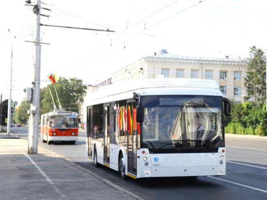 Чебоксары готовы пустить «безрогие» троллейбусы в Новочебоксарск
