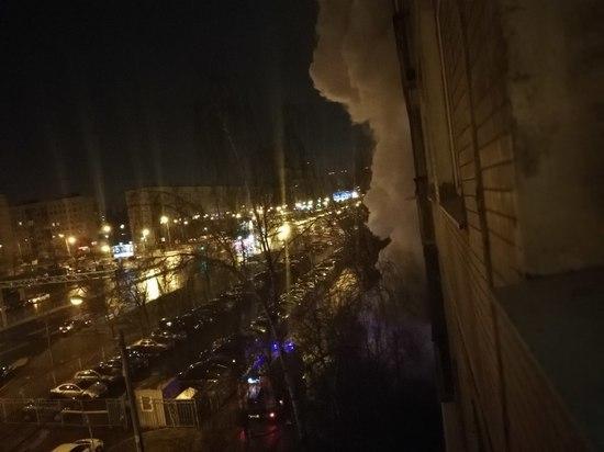 В сгоревшей на Дунайском проспекте квартире нашли два трупа