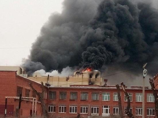 В МЧС назвали причину пожара в Кемерове: