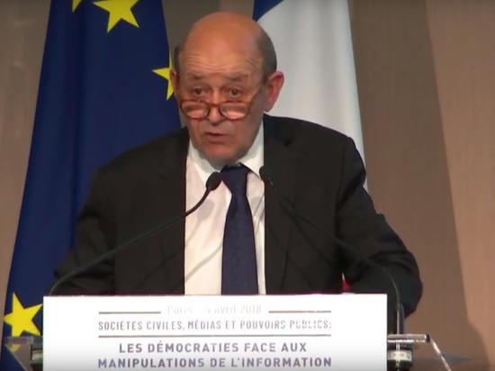 МИД Франции: Сирия не сможет производить химоружие после массированной атаки