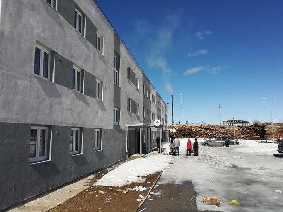 Пудожский бардак: активисты ОНФ обнаружили недостатки в новом доме для переселенцев