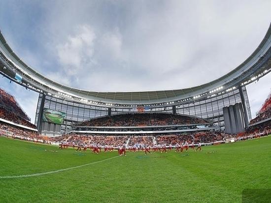 Свердловчане на открытии стадиона «Екатеринбург Арена» обыграли чемпиона