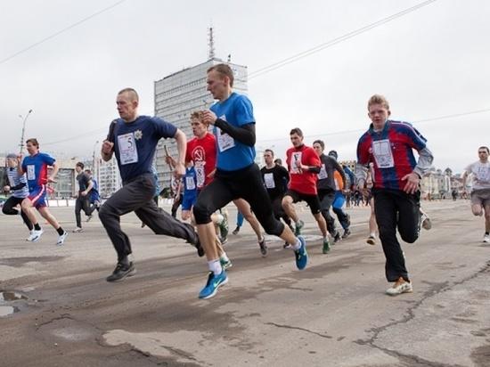 Участники архангельской Майской эстафеты пробегут четыре с половиной километра