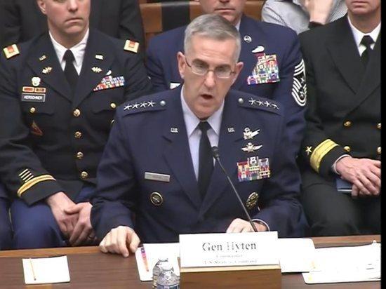 Глава STRATCOM рассказал, что США наблюдали за испытаниями гиперзвукового оружия РФ