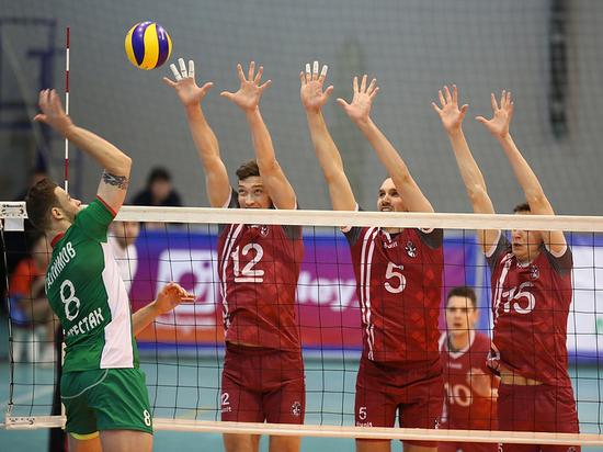 Нижегородские волейболисты сохранили прописку в высшей лиге А
