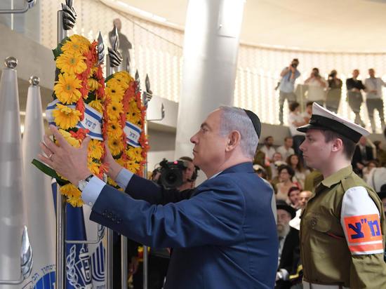 Премьер-министр принял участие в церемонии, посвящённой Дню памяти павших воинов на горе Герцля