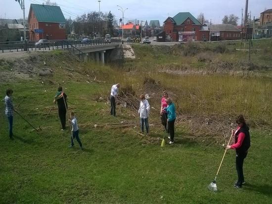 В Тамбовской области проходят массовые субботники