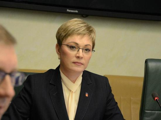 Марина Ковтун в Совете Федерации разнесла сенаторов в пух и прах