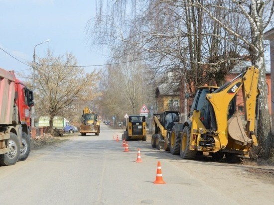 Где в Серпухове будут проходить ремонтные работы автомагистралей